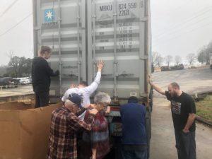 feb bible donation shipment