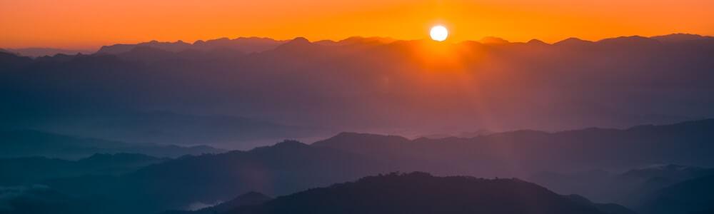 burma mountains