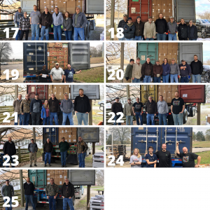 bible donations in march